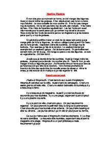 gcse french essay health