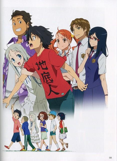 A-1 Pictures, AnoHana, Naruko Anjou, Jinta Yadomi, Chiriko Tsurumi