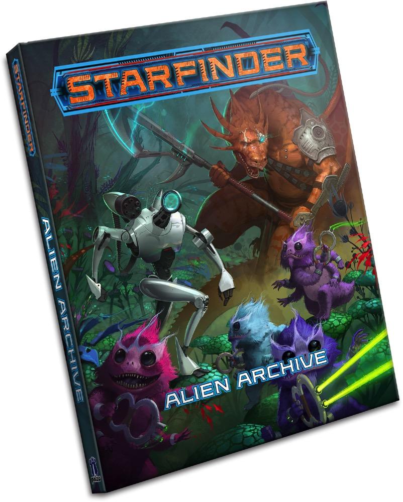 Image result for Starfinder: Alien Archive
