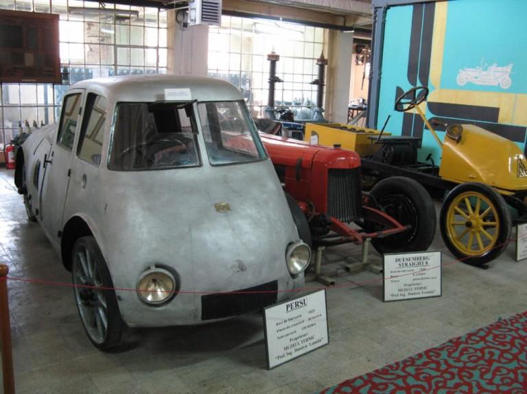 Automobilul aerodinamic Aurel Persu 1922 2