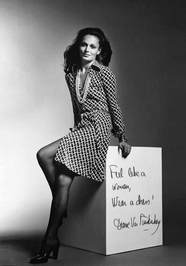 Image result for dvf first wrap dress