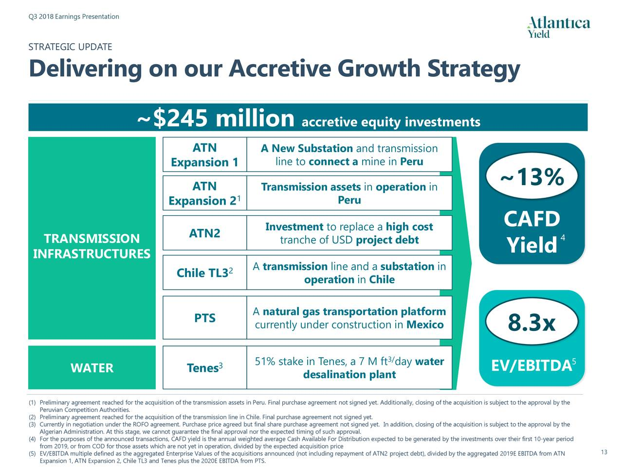 Atlantica Yield plc 2018 Q3 - Results - Earnings Call ...