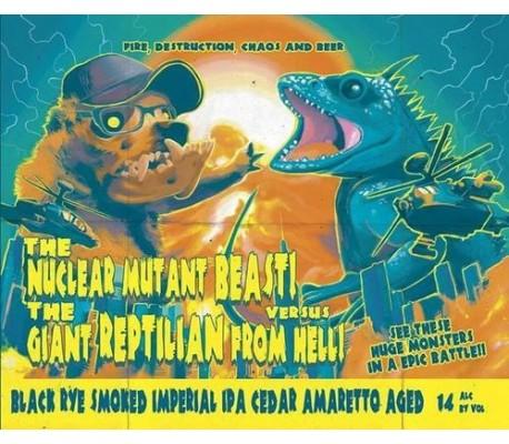 "Képtalálat a következőre: ""The Nuclear Mutant Beast Versus The Giant Reptilian From Hell"""