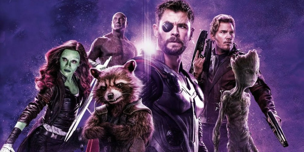 Image result for thor and guardians of the galaxy