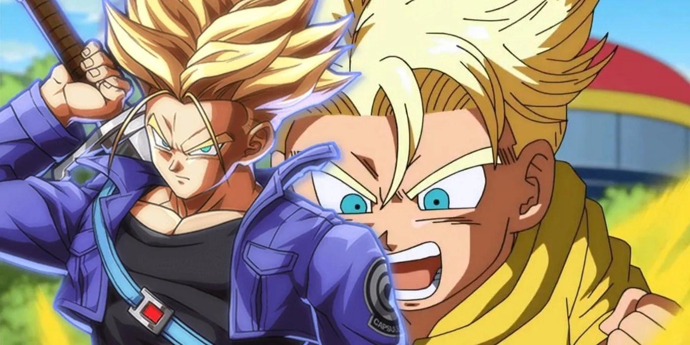 Dragon Ball Z Why Kid Trunks Went Super Saiyan Before Future Trunks
