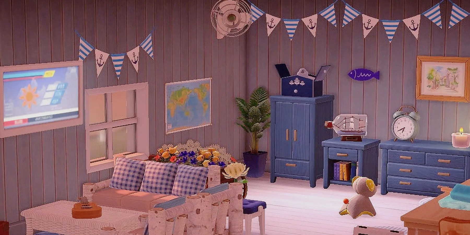 Interior Design Ideas & Tips in Animal Crossing: New Horizons on Animal Crossing Room Ideas New Horizons  id=30663