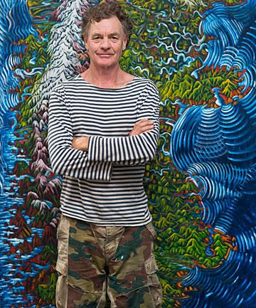 Auckland artist Dean Buchanan