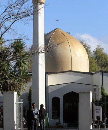 CHRISTCHURCH BASE: Al-Noor mosque where Daryl Jones attended.