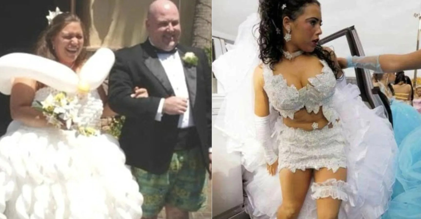 Walking Down The Isle (Of Shame): 15 Hideous Wedding Dress