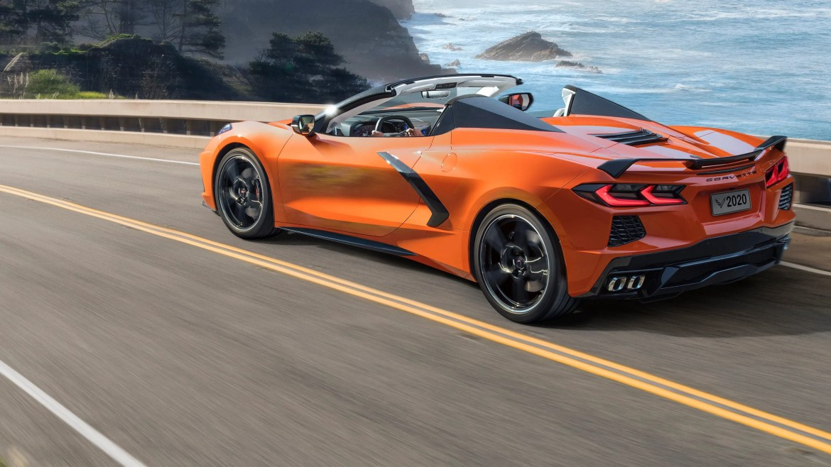 2020 Chevy Corvette Stingray usatoday