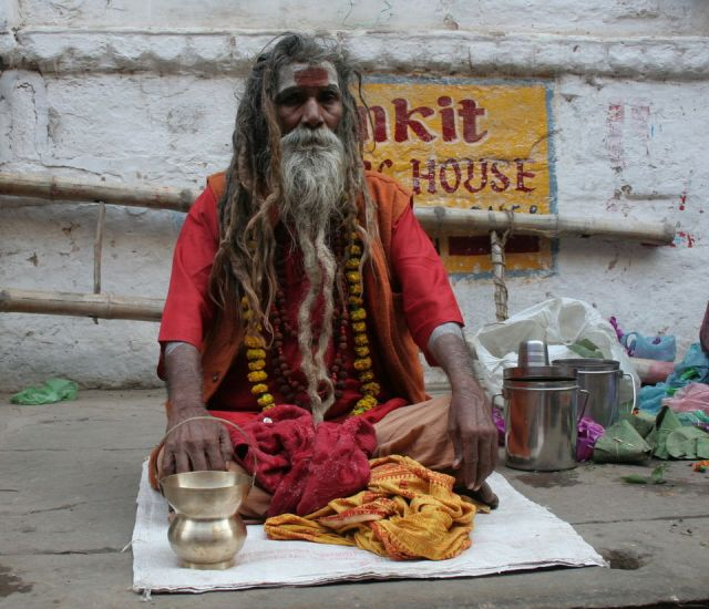 Image result for aghoris at the ghats of varanasi