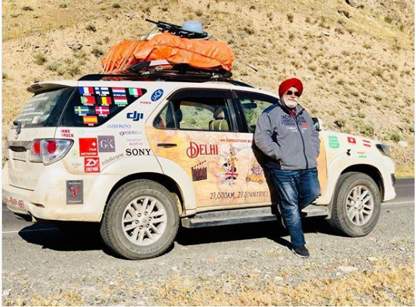 Photo of Delhi to London: 36,800 Km in 135 Days! This 60-Year-Old Man Proves Age Is Just a Number 6/11 by Priya Pareek