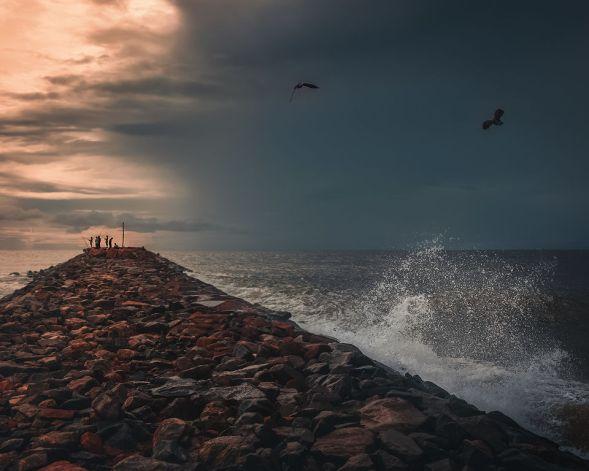 Azhithala Beach,