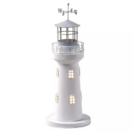 Világítótorony világítással 38 cm Lámpa
