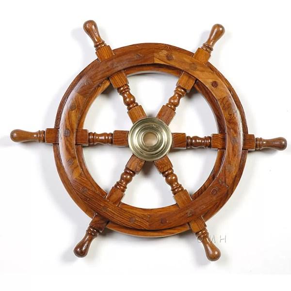 Hajókormány 60 cm Kormány, Horgony