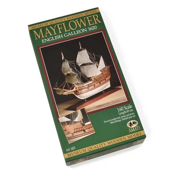 Mayflower hajómakett építőkészlet Amati