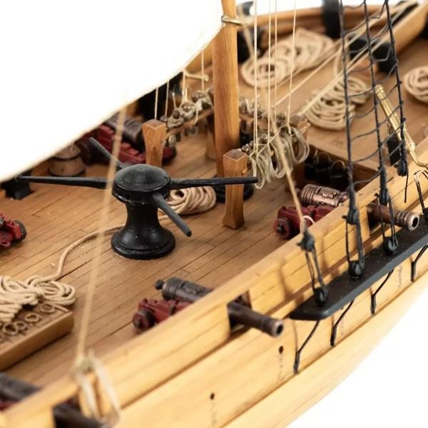 Adventure kalózhajó építőkészlet Amati