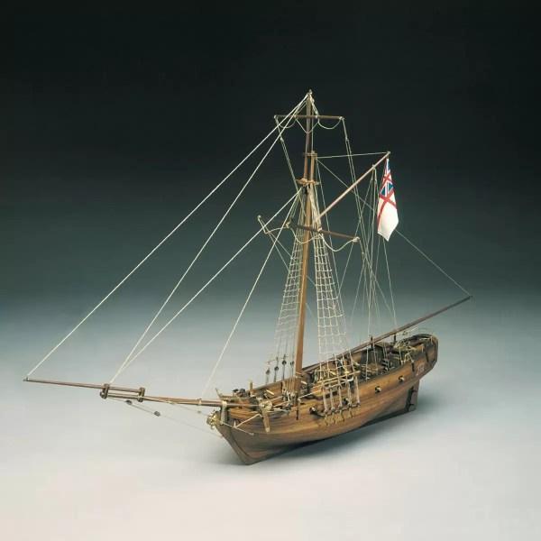HMS Sharke Sloop hajómakett építőkészlet Sergal