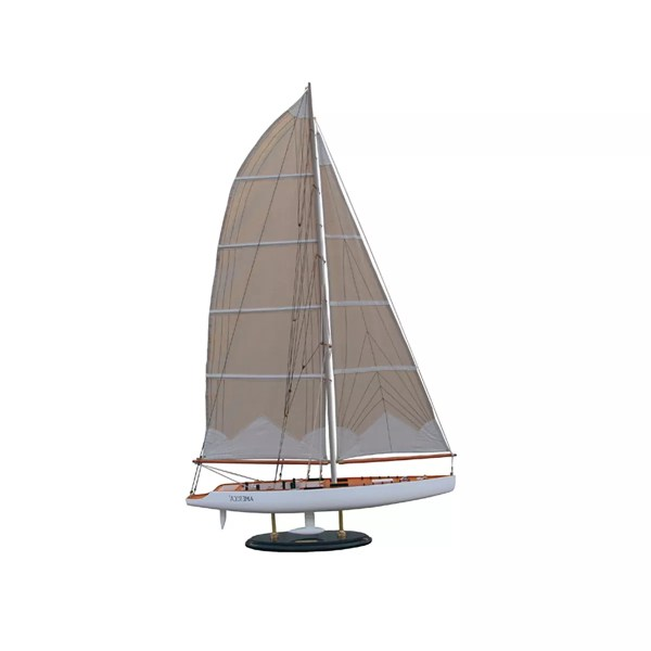 America 3 makett L31 Vitorlás hajómakett