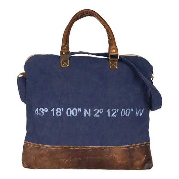 Laptop táska kék Hajós divat, táska
