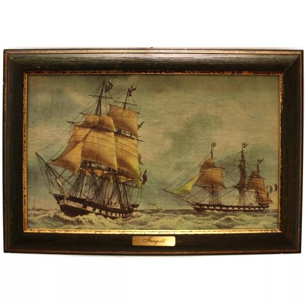 Festmény Fregatt Festmények, képek