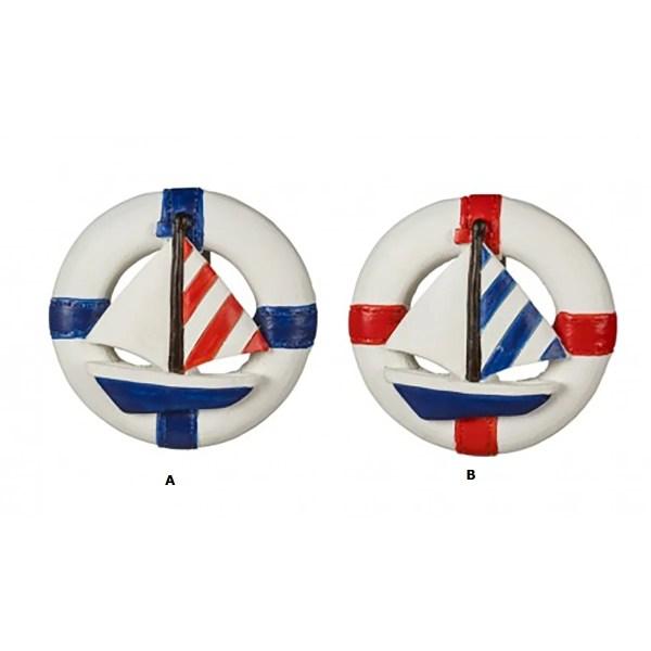 Mentőöv vitorlással mágnes Hűtőmágnes