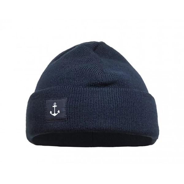 Kék tengerész téli sapka Sapka, kalap