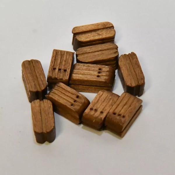 Csiga blokk három soros 10 mm 10 darab Kiegészítők