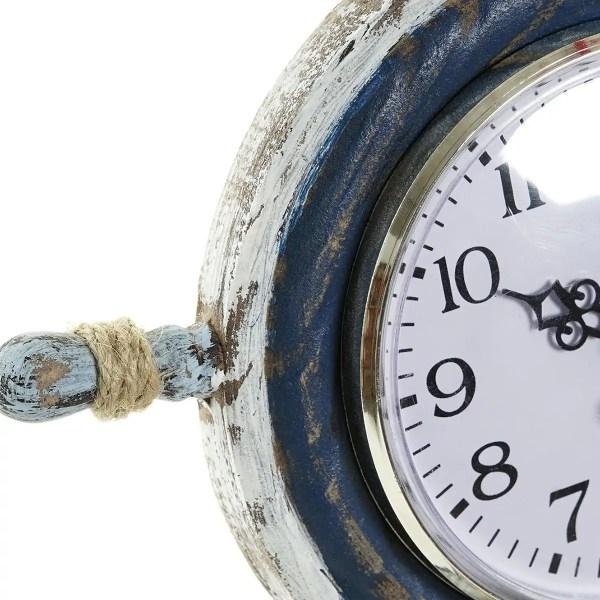Kormány órával csigán kék Óra, falióra