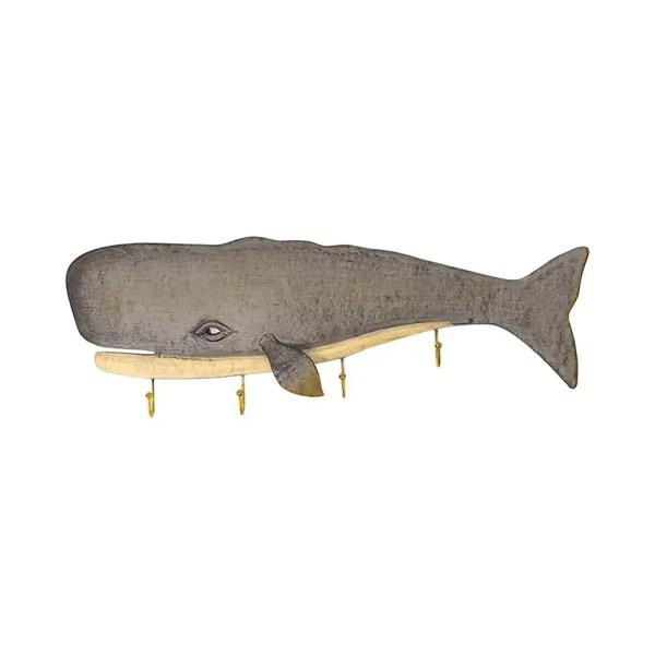 Fogas bálna 61×21 cm Fogas, akasztó, evező