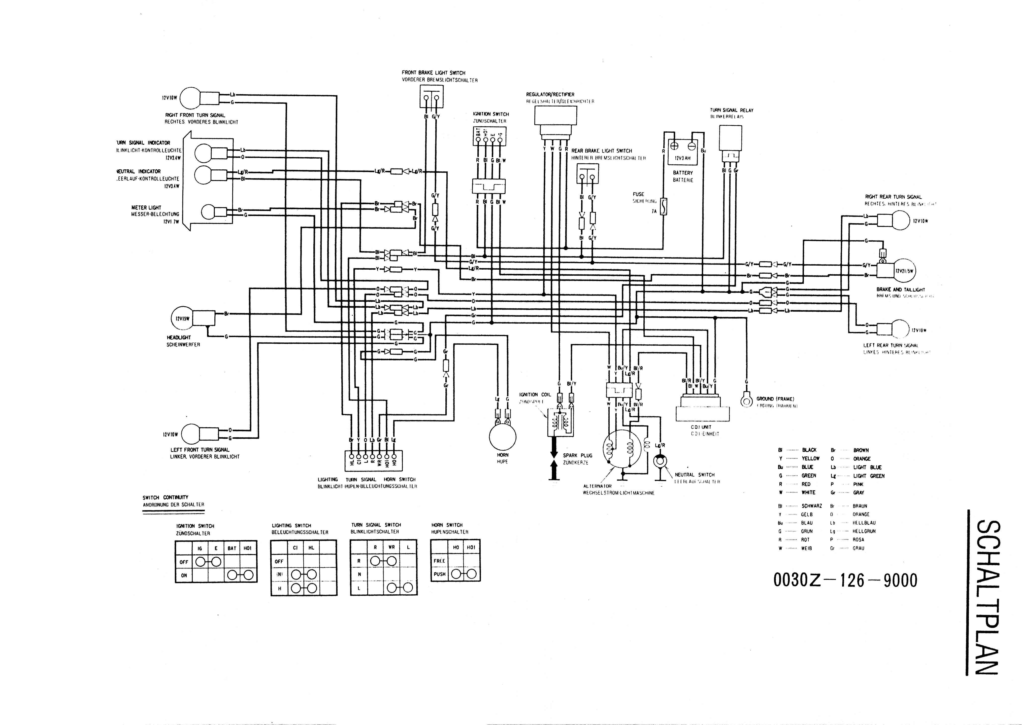 Honda St70 Wiring Diagram