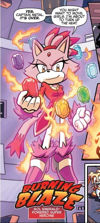 Burning Blaze SonicWiki