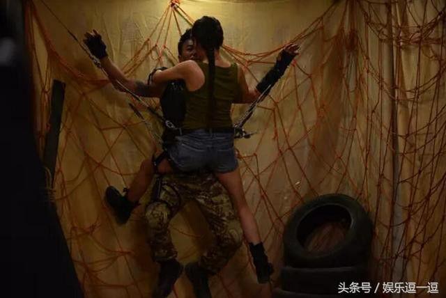 Nhậm Kiều luôn nỗ lực trong mọi cảnh quay dù là khó nhất.