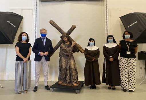 El IAPH entrega restaurado al convento de Santa María de Jesús al nazareno del Perdón