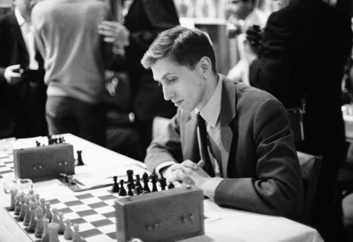 Bobby Fischer, en 1965, en un torneo en Nueva York