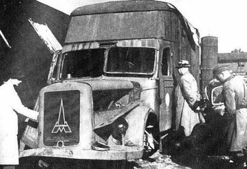 Primeros camiones dedicados a gasear reos