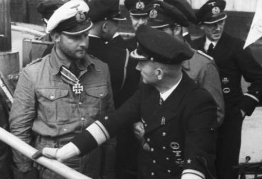 Lemp, junto al popular Karl Dönitz