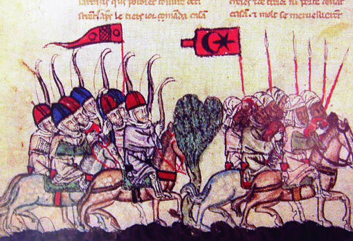 Tropas musulmanas que asediaron la ciudad