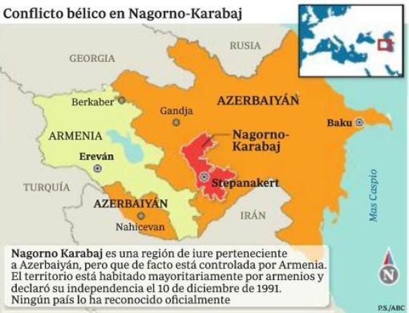 Las seis preguntas claves para entender qué pasa en Nagorno Karabaj