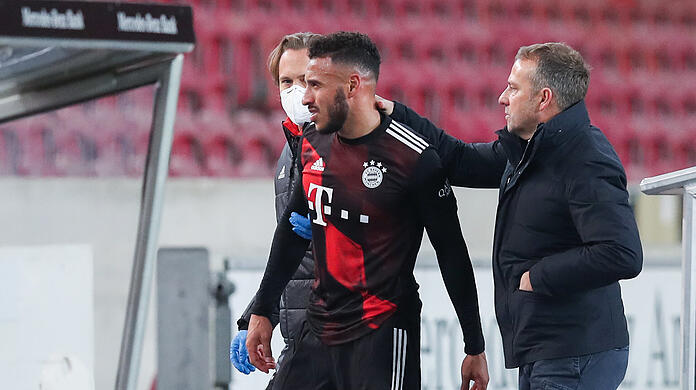 Corentin Tolisso is out for several months.  (Archive image)
