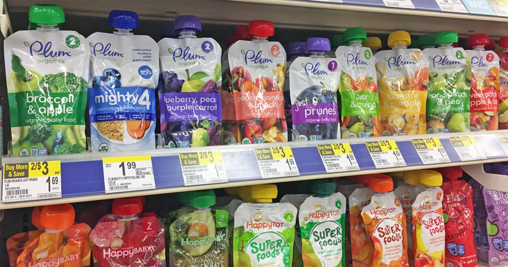 10 Tried & Trusted Organic Baby Food Brands | Best Ten News