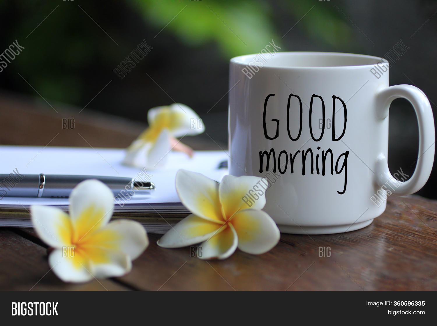 Good Morning Text Image Photo Free Trial Bigstock