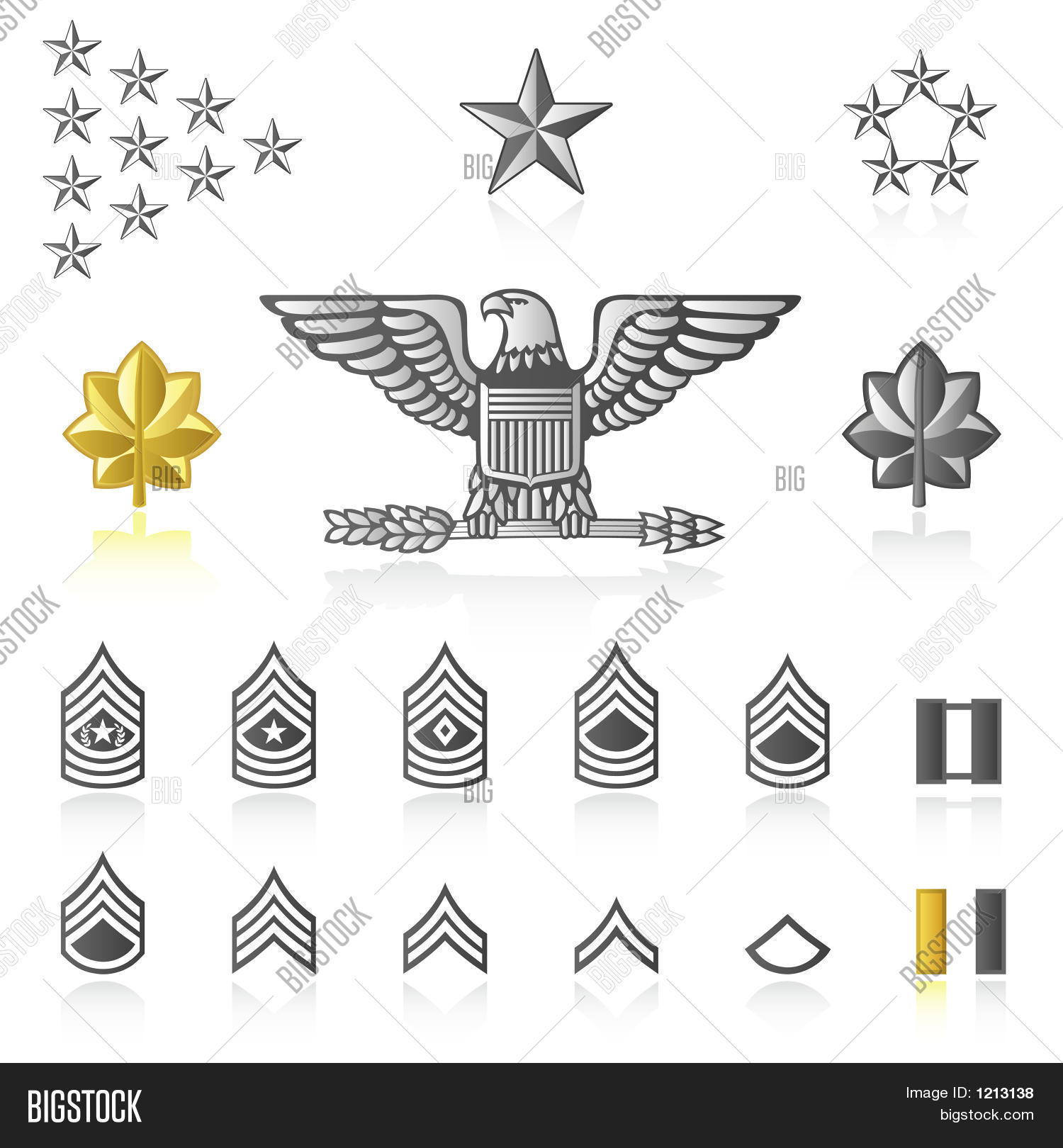 Rank Icons Army Image Amp Photo Free Trial