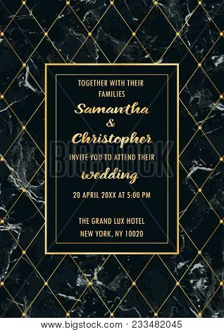 wedding invitation vector photo free