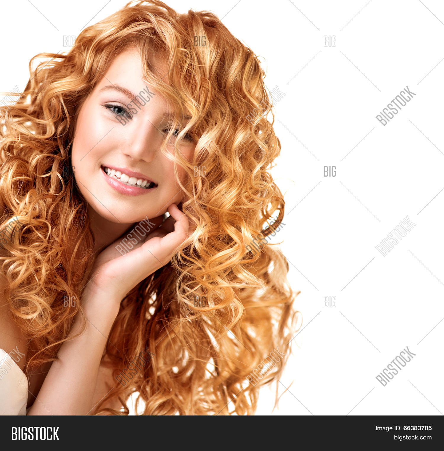 Beauty Teenage Model Girl Portrait Image Amp Photo Bigstock