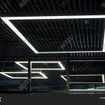 Modern Office Lighting Image Photo Free Trial Bigstock
