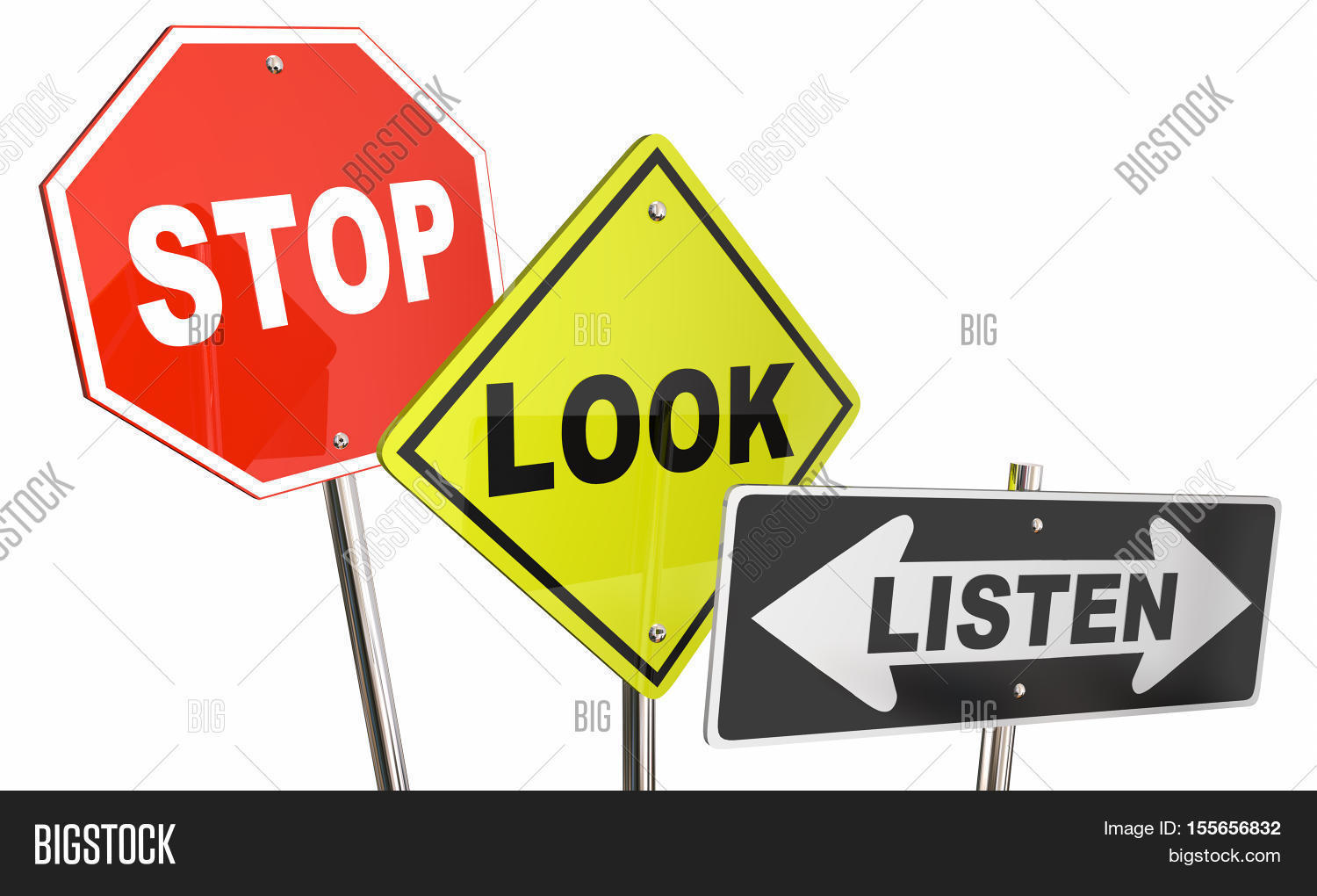 Stop Look Listen Pay Image Amp Photo Free Trial