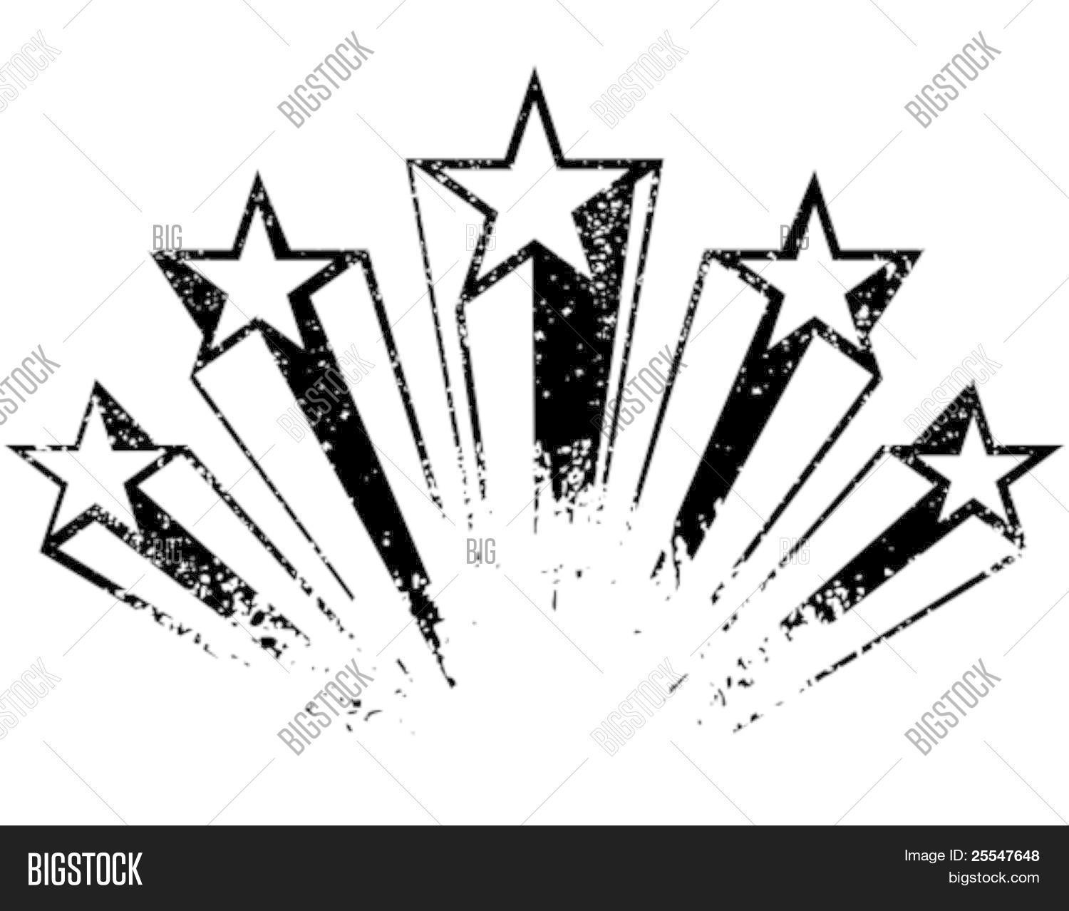Shooting Stars Vector Amp Photo Free Trial