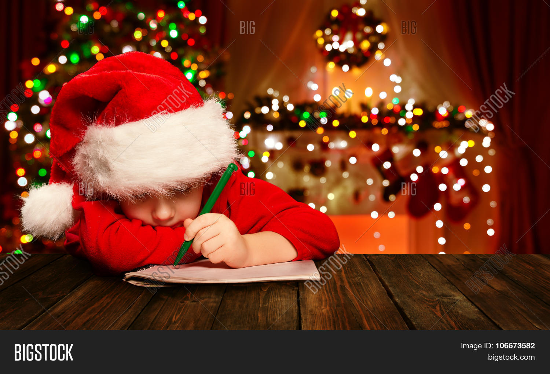 Christmas Child Write Image Amp Photo Free Trial
