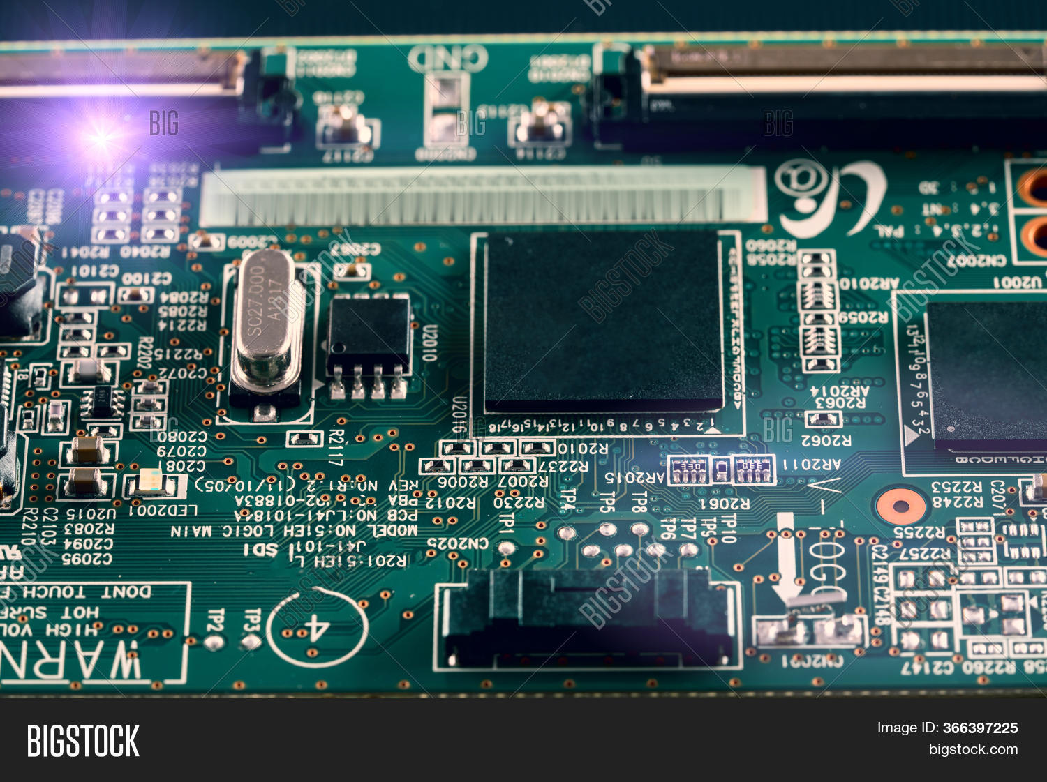 Microcontroller Pcb. Image & Photo (Free Trial) | Bigstock